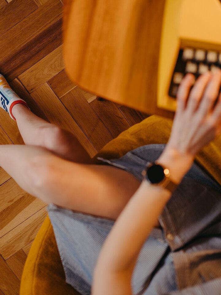 Potešte sa týmto kúskom Dedoles Členkové veselé ponožky Zdravie