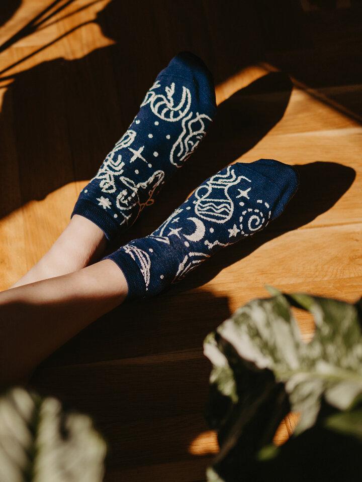 Zľava Členkové veselé ponožky Zverokruh