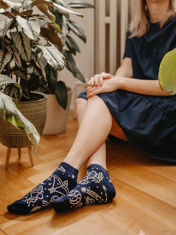 Pre dokonalý a originálny outfit Členkové veselé ponožky Zverokruh
