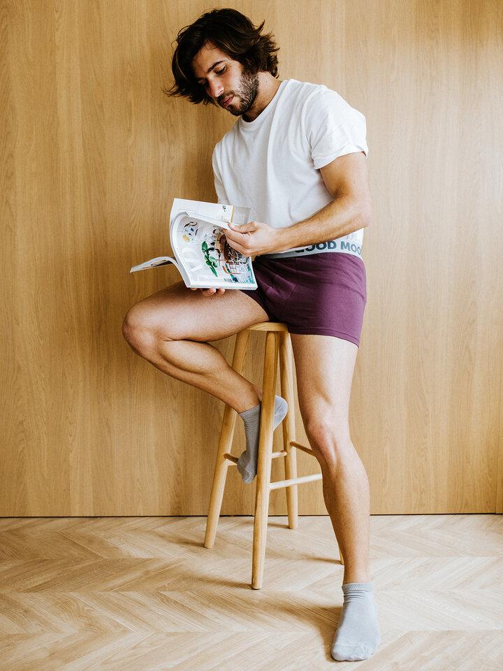 Potešte sa týmto kúskom Dedoles Grey Bamboo Ankle Socks