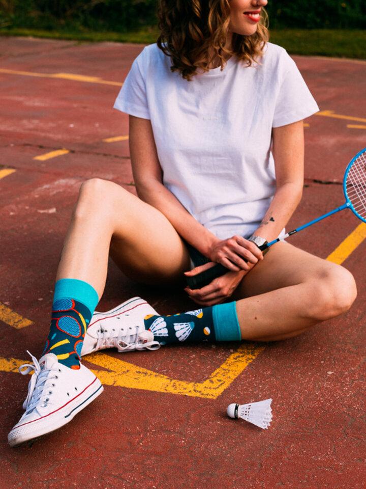 Pre dokonalý a originálny outfit Regular Socks Badminton