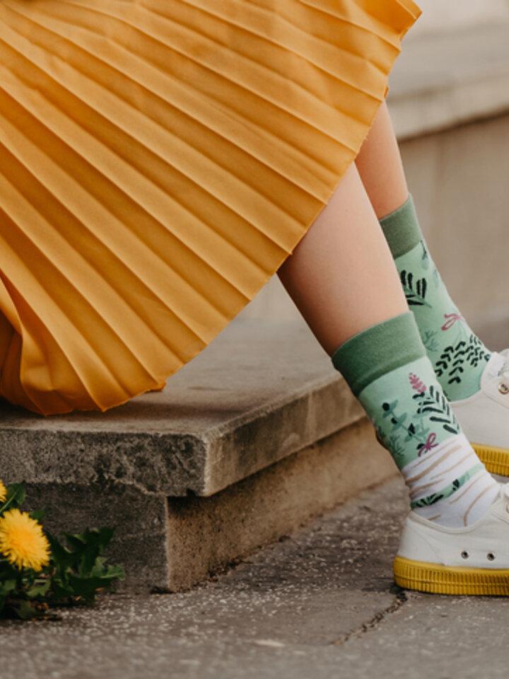 Gift idea Regular Socks Herbs