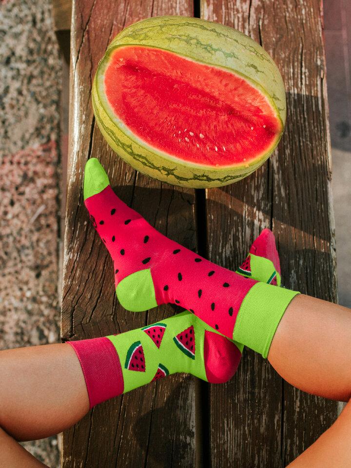 Original gift Regular Socks Watermelon