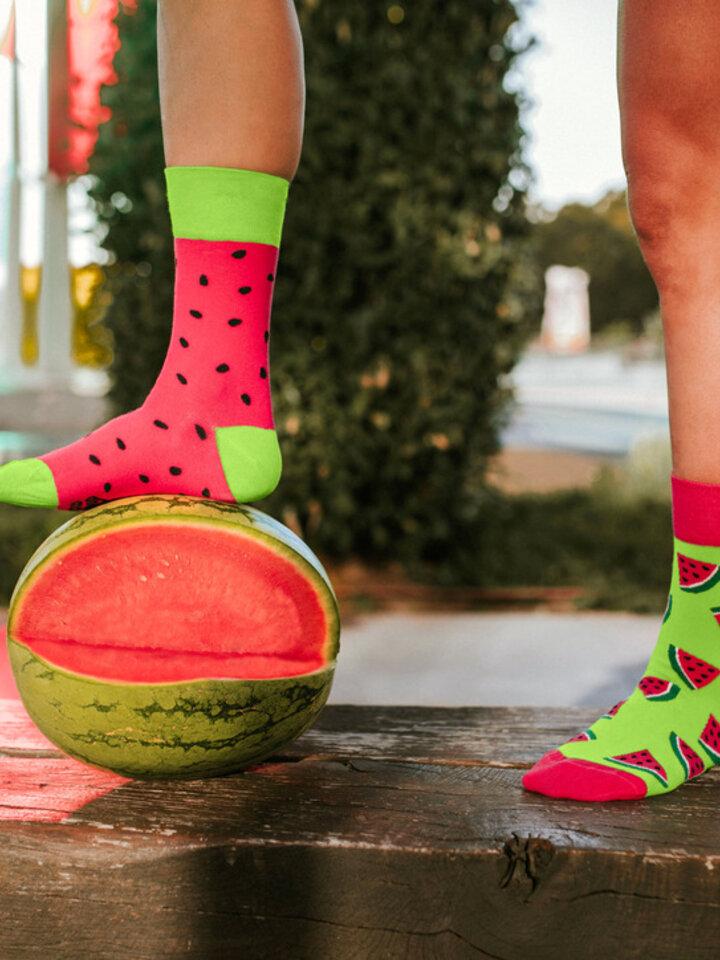 Lifestyle photo Regular Socks Watermelon