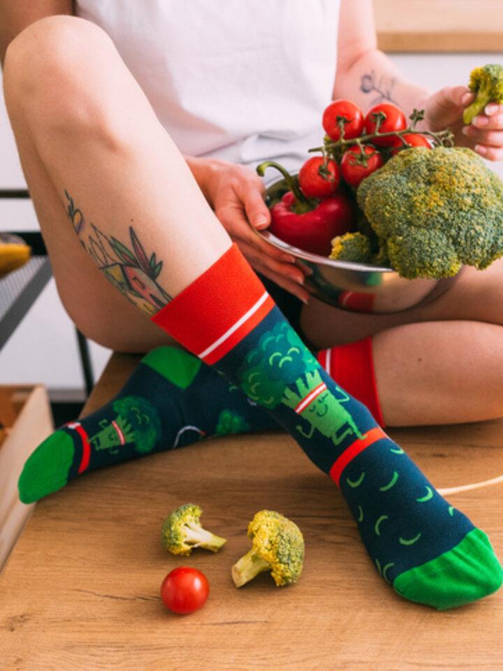 Lifestyle photo Regular Socks Fit Broccoli