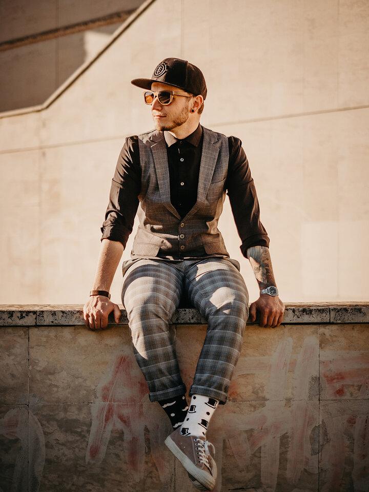 Pre dokonalý a originálny outfit Chaussettes rigolotes Gentilhomme