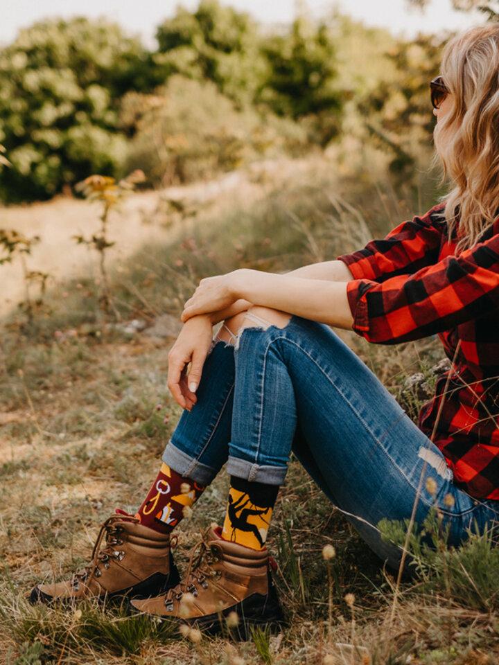 pro dokonalý a originální outfit Veselé ponožky Horolezectví