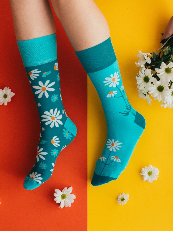 Zľava Vrolijke sokken Kamillen