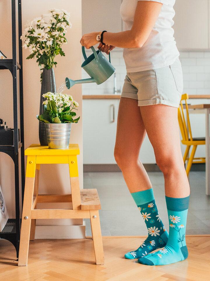 Výpredaj Vrolijke sokken Kamillen
