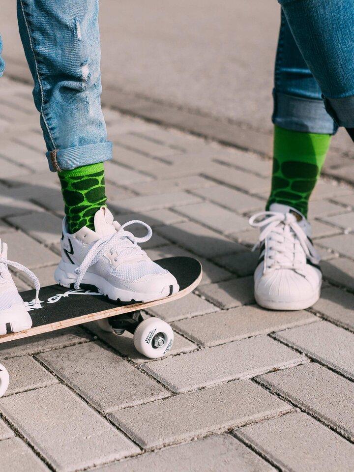 Obrázok produktu Vrolijke sokken Krokodil