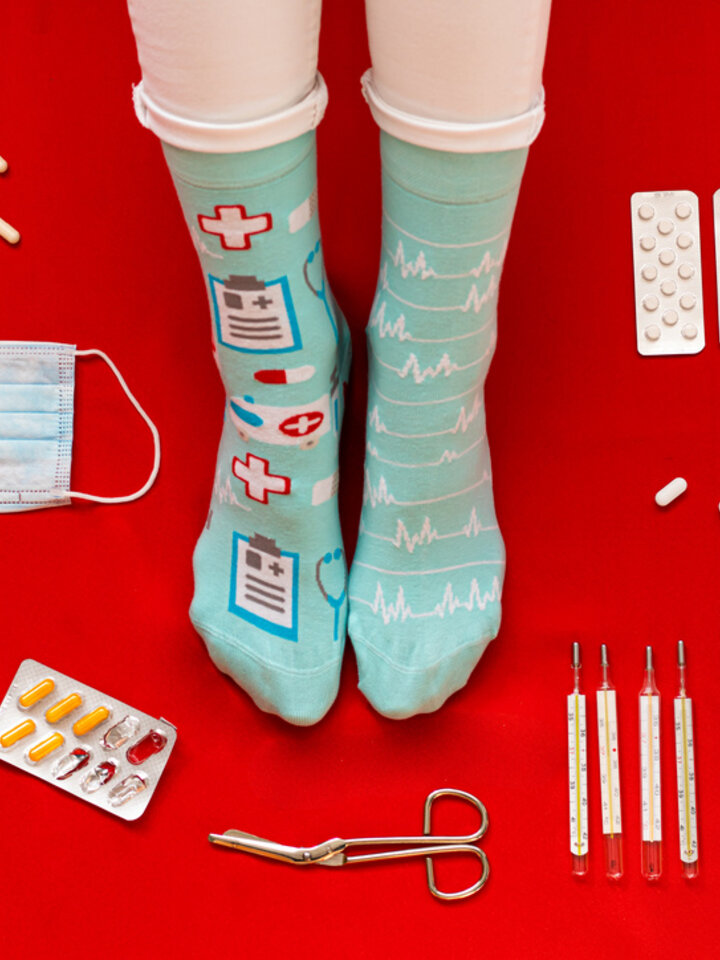 Lifestyle photo Regular Socks Medicine
