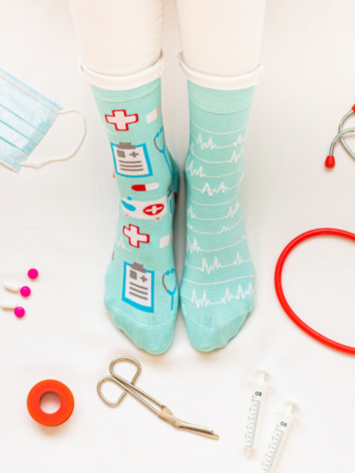 Sale Regular Socks Medicine