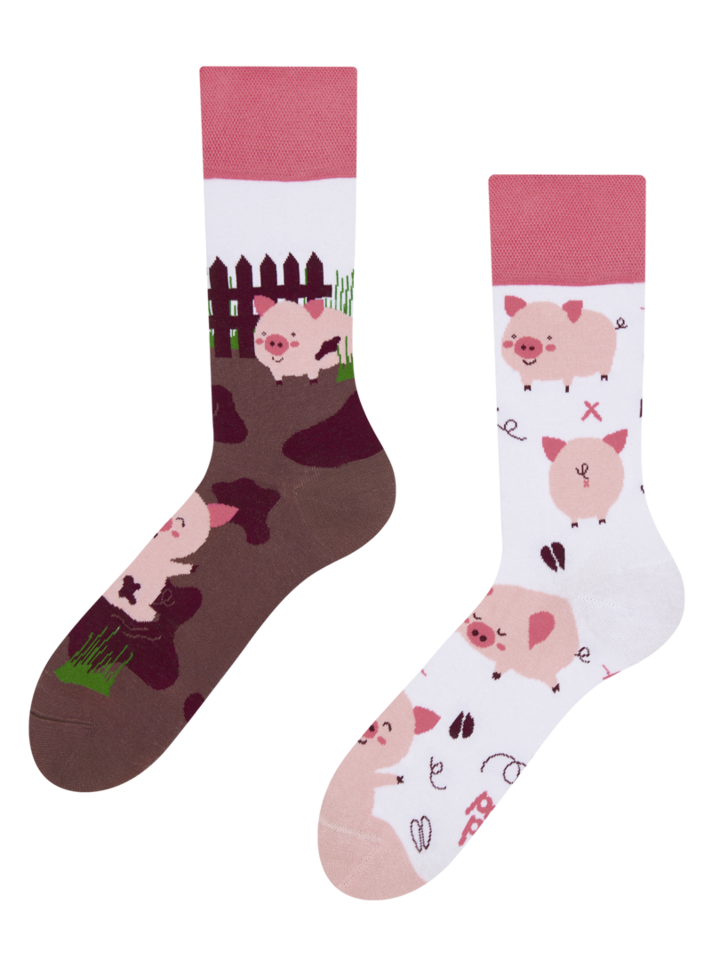 Gift idea Regular Socks Happy Pigs