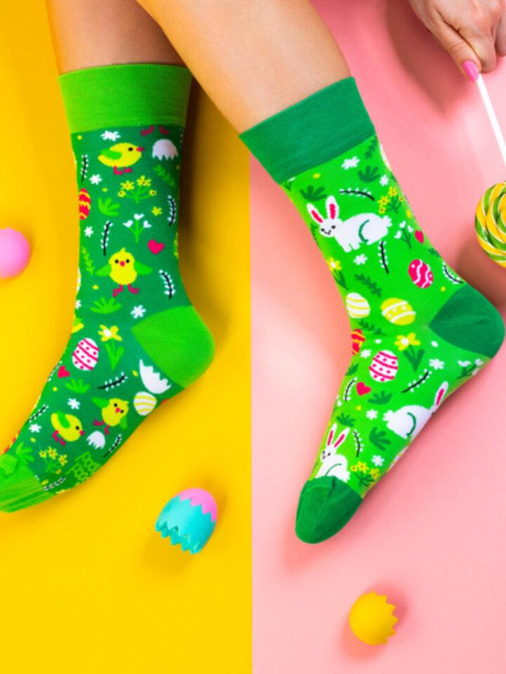 Potešte sa týmto kúskom Dedoles Vrolijke sokken Paashaas