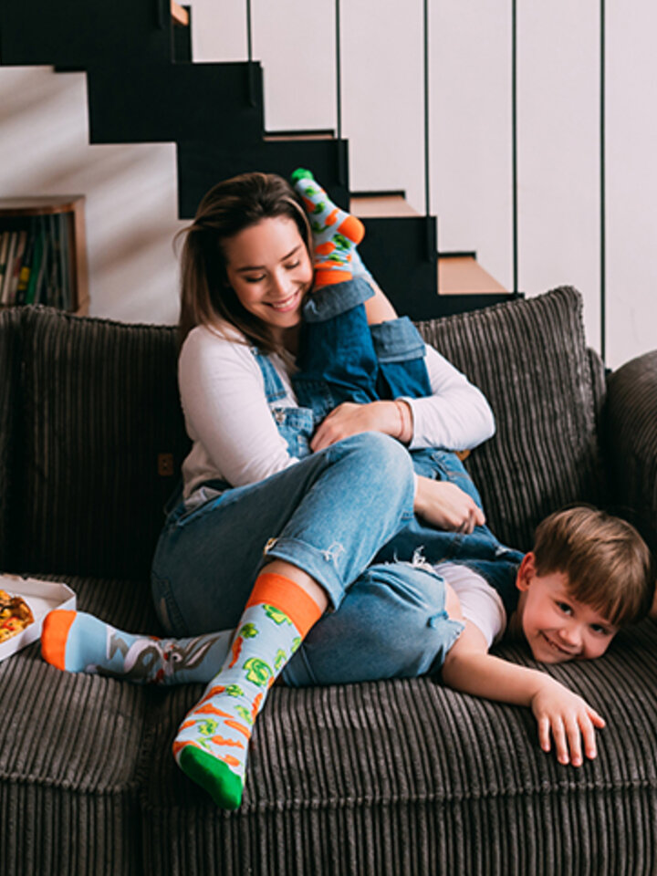 Sleva Veselé ponožky Bugs Bunny ™ Mrkev