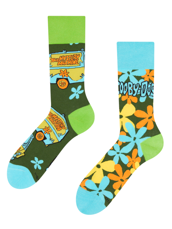 Looking for an original and unusual gift? The gifted person will surely surprise with Scooby Doo ™ Regular Socks The Mystery Machine