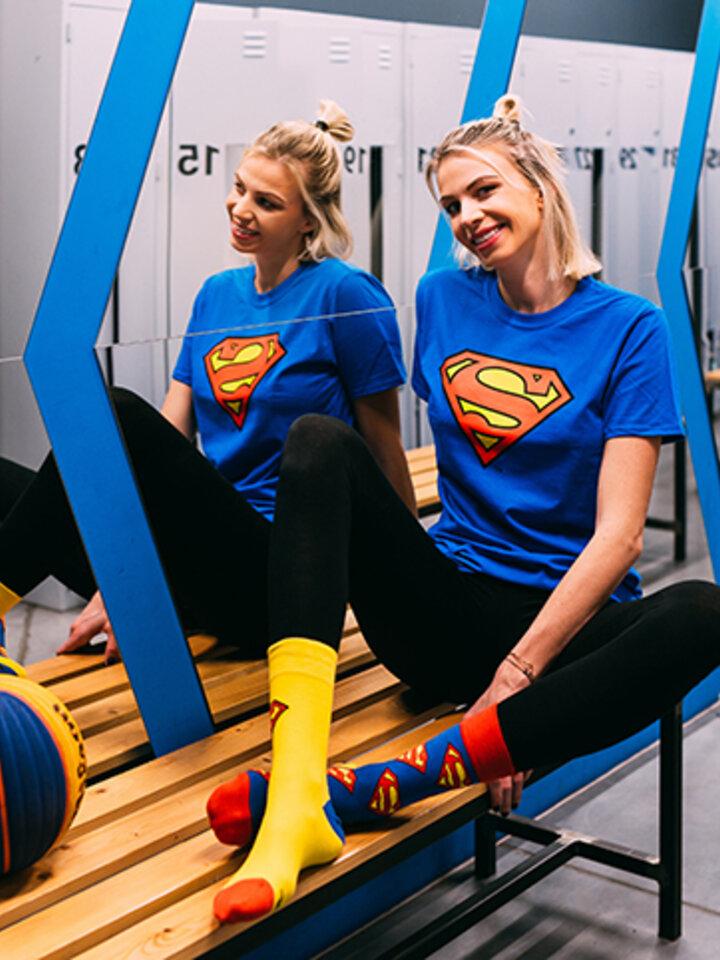Pre dokonalý a originálny outfit Superman ™Regular Socks Logo