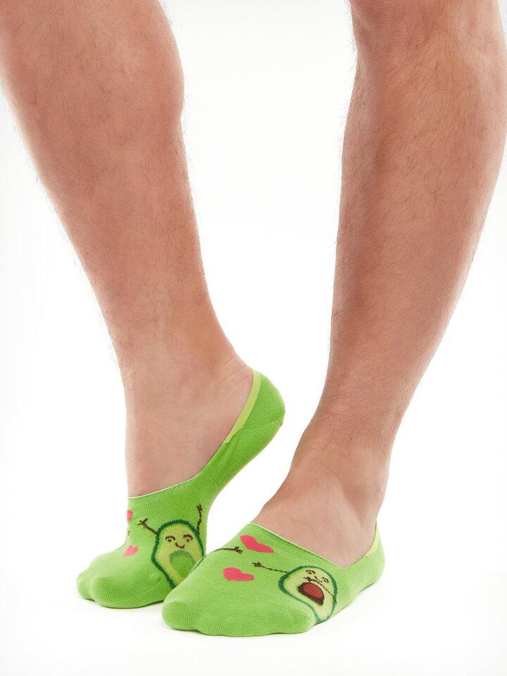 Original gift No Show Socks Avocado Love
