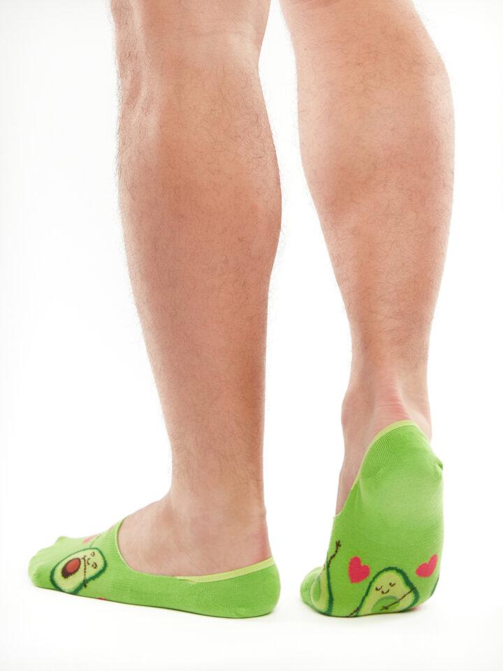 Gift idea No Show Socks Avocado Love