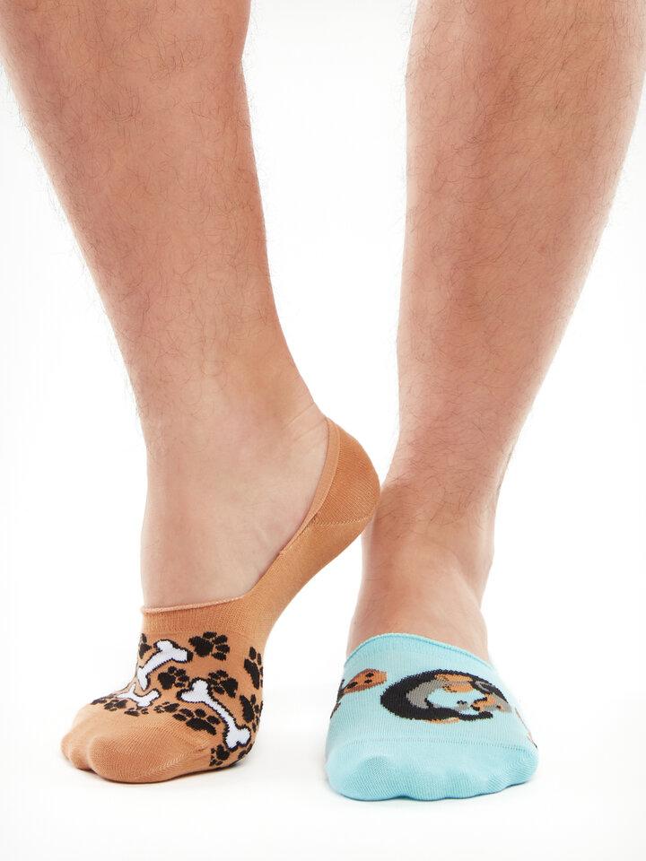 Original gift No Show Socks Dachshund
