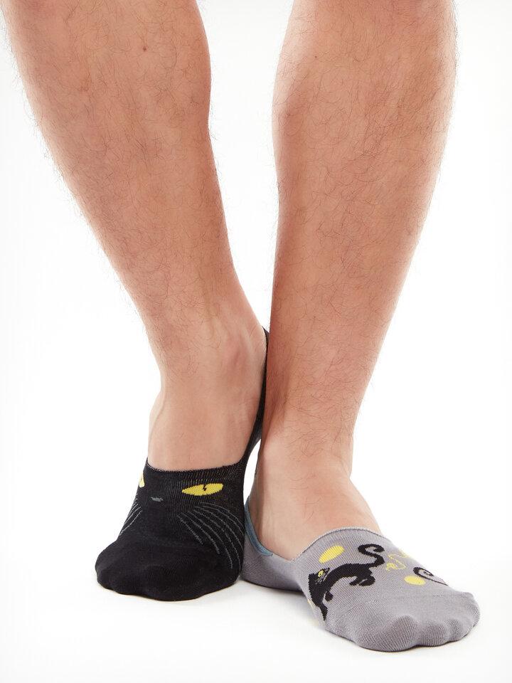 Obrázok produktu Vrolijke no show sokken Kattenogen