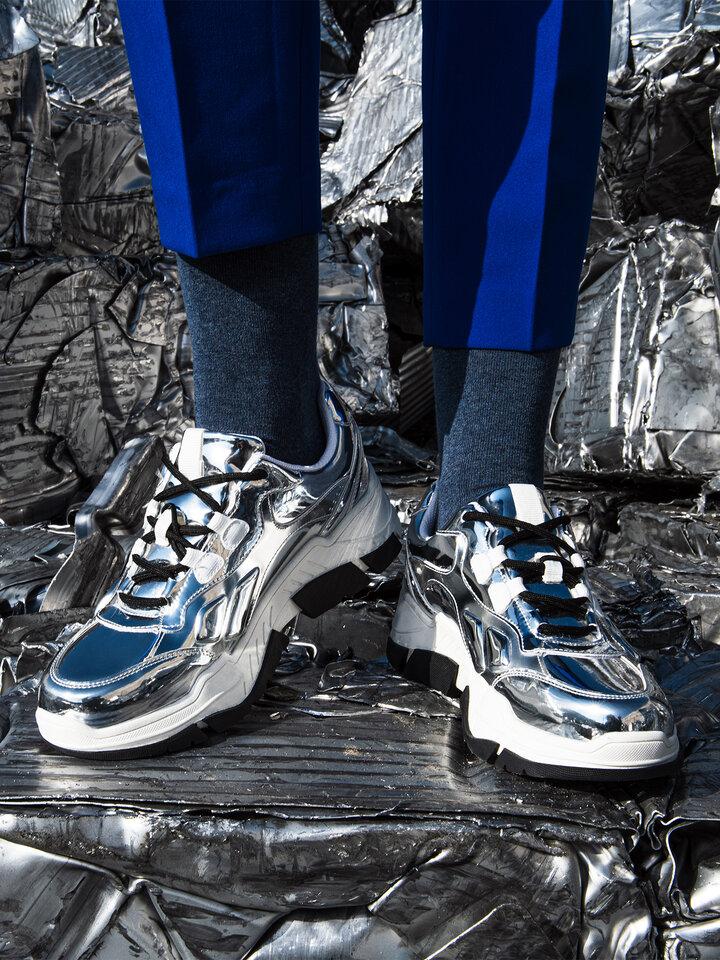 Foto Ponožky z recyklované bavlny Jeans