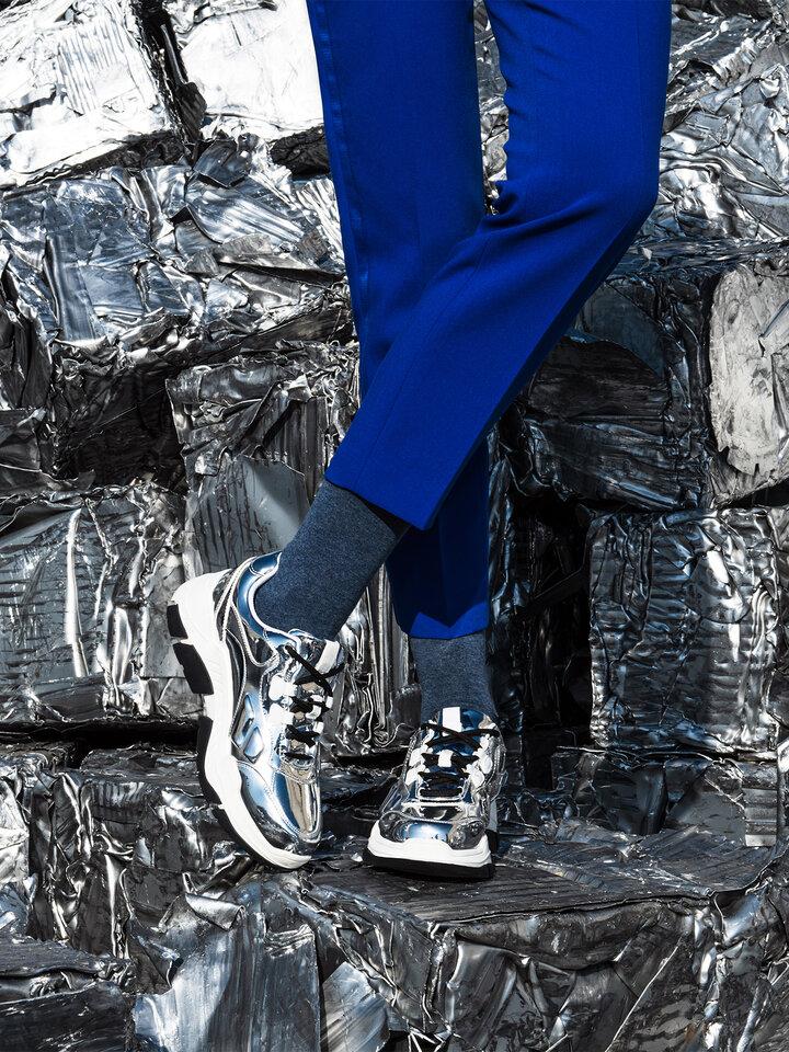 Ajándék tipp Zokni újrahasznosított pamutból Jeans