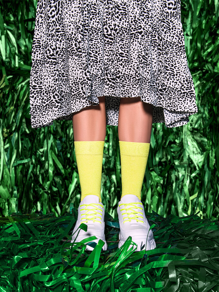 Lifestyle photo Recycled Cotton Socks Lemonade