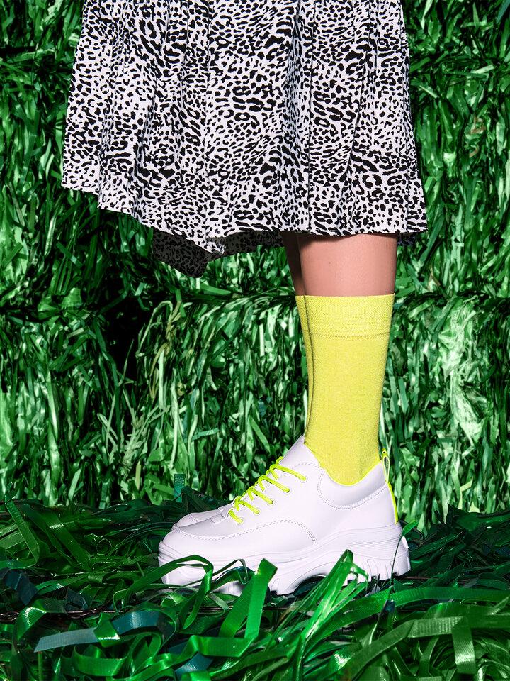 Szerezzen magának örömet ezzel a Dedoles darabbal Újrahasznosított pamut zokni Limonádé