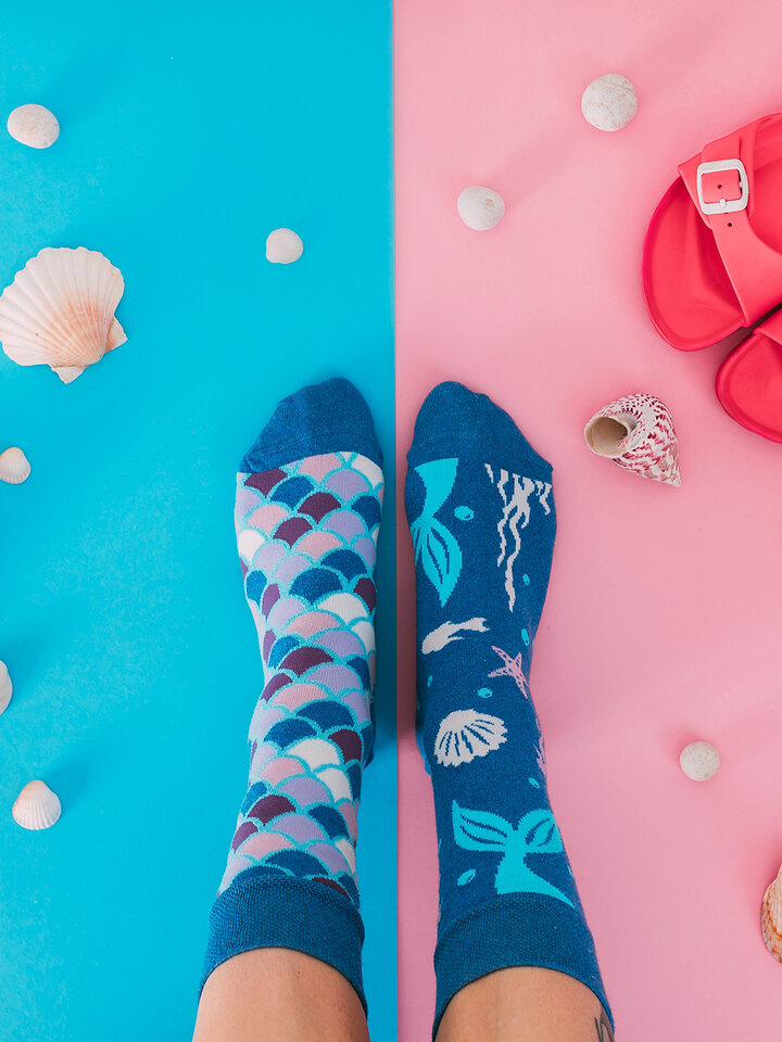 Gift idea Eco Friendly Socks Mermaid