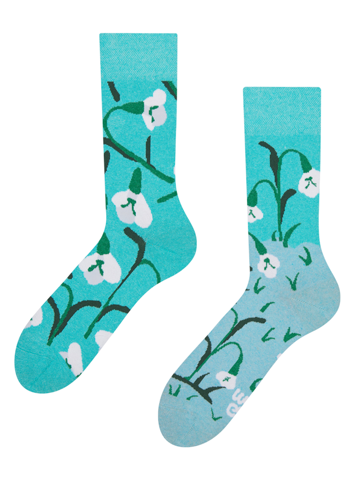 Sale Eco Friendly Socks Snowdrops