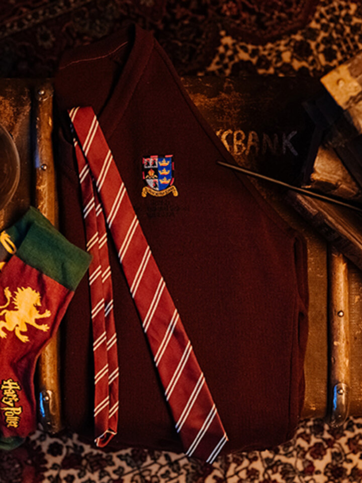Výpredaj Vesele nogavice Harry Potter ™ Gryffindor vs. Slytherin