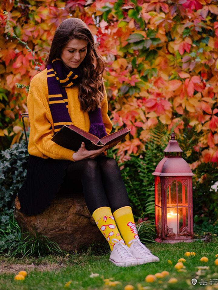 Foto Vidám zokni Harry Potter ™ - Szemüveg