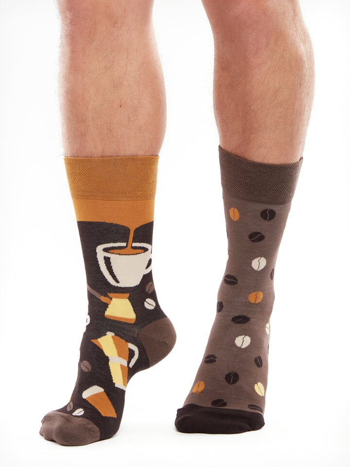 Lifestyle photo Bamboo Regular Socks Coffee Beans