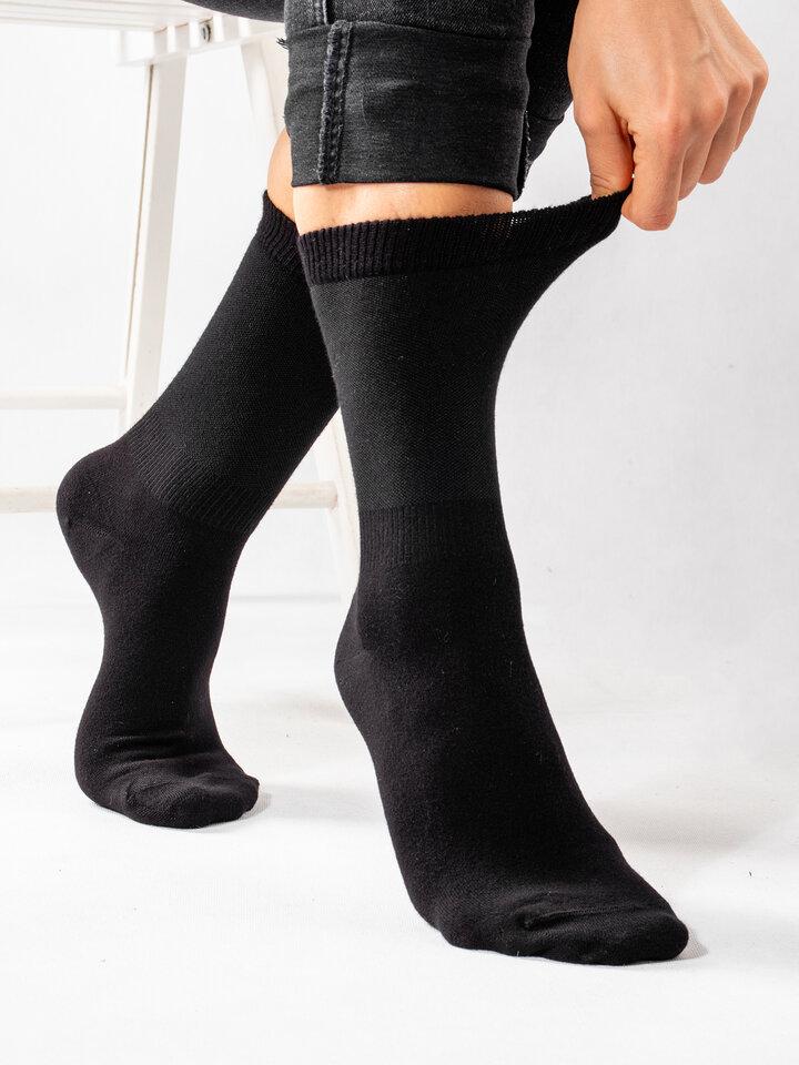 Obrázok produktu Zwarte bamboe  sokken Comfort
