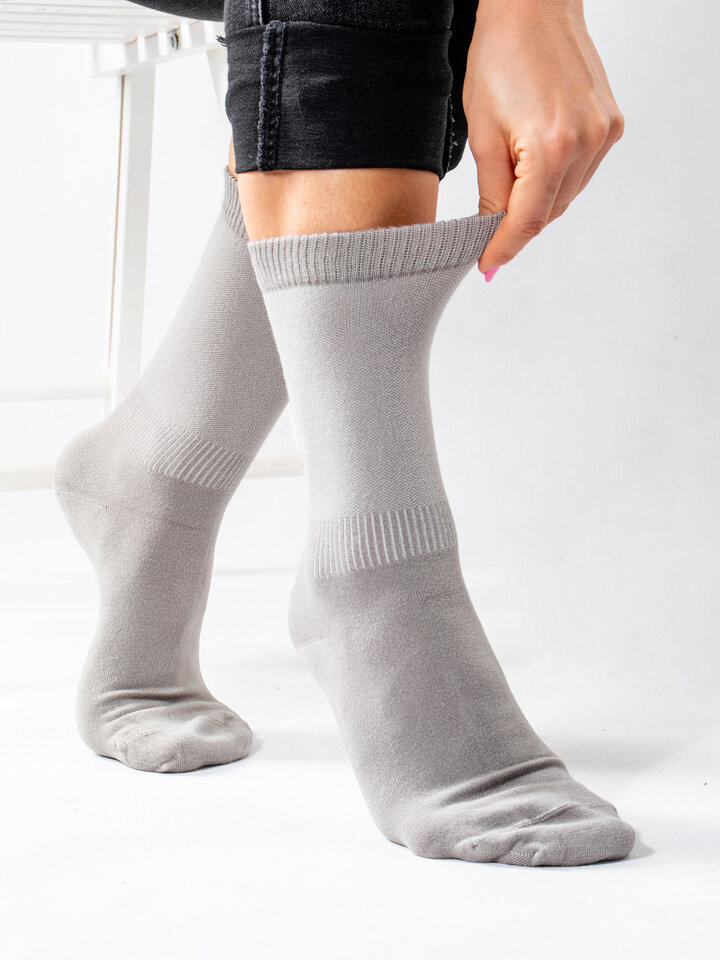 Gift idea Gray Bamboo Socks Comfort