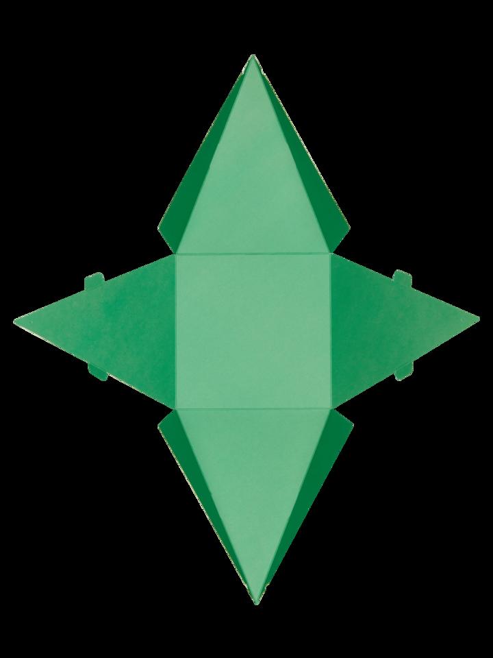 Výnimočný darček od Dedoles Pyramídová darčeková krabička Dedoles