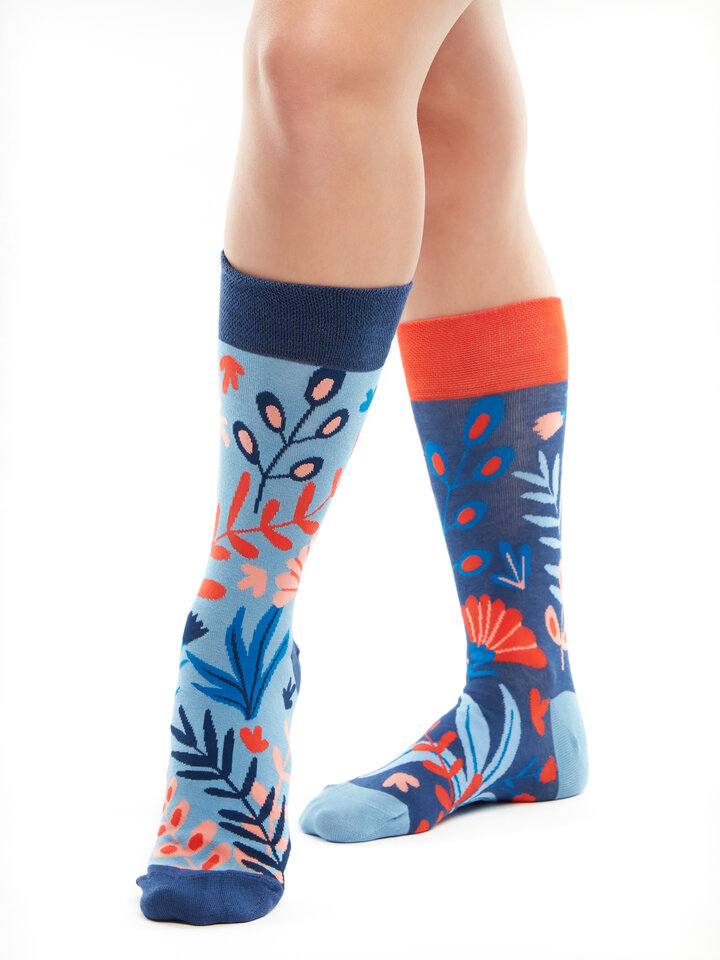 Hľadáte originálny a nezvyčajný darček? Obdarovaného zaručene prekvapí Veselé bambusové ponožky Koral
