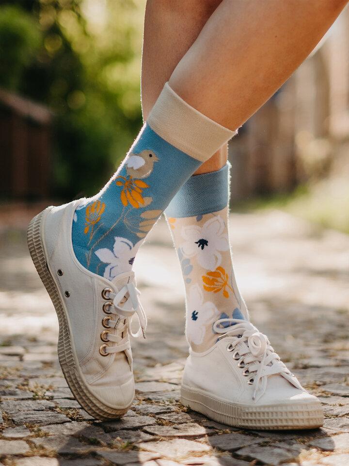 Obrázok produktu Vesele čarape od bambusa Buđenje prirode