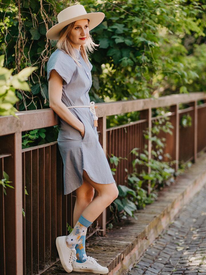 Výpredaj Vesele čarape od bambusa Buđenje prirode