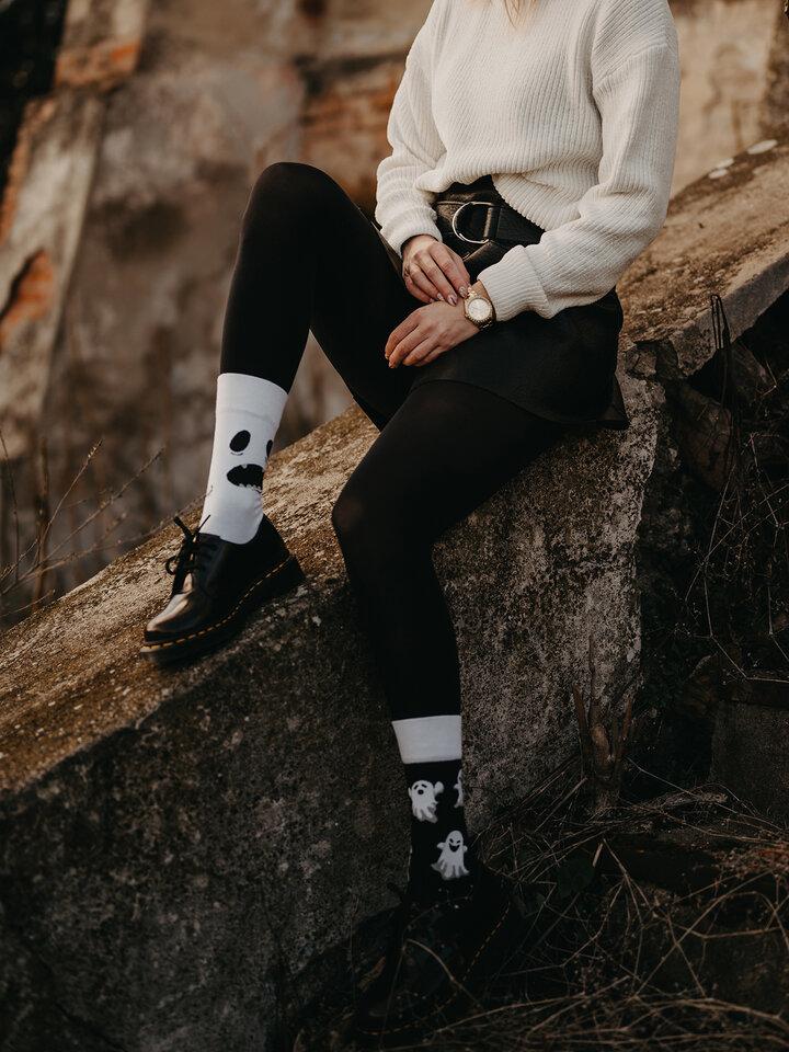 Sale Regular Socks Ghost