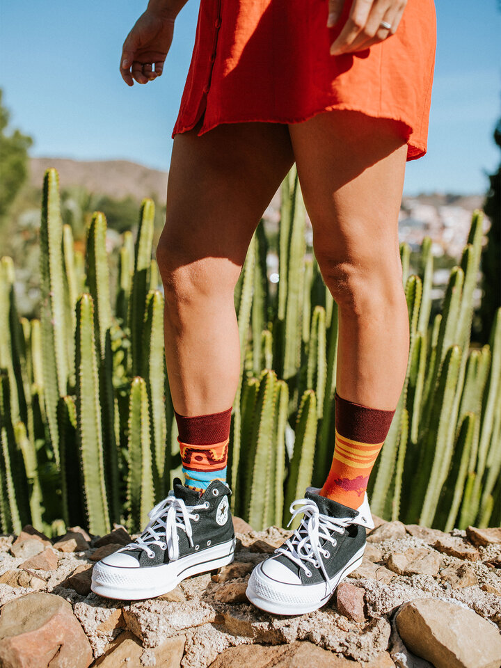 Lifestyle foto Veselé ponožky Afrika