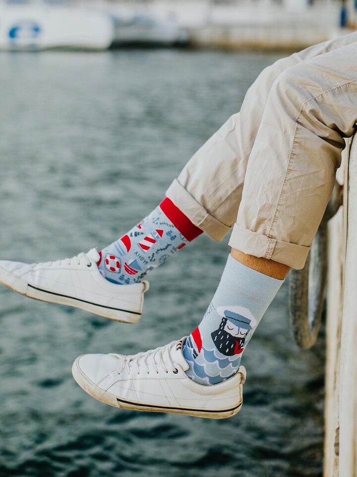Obrázok produktu Veselé ponožky Ahoj