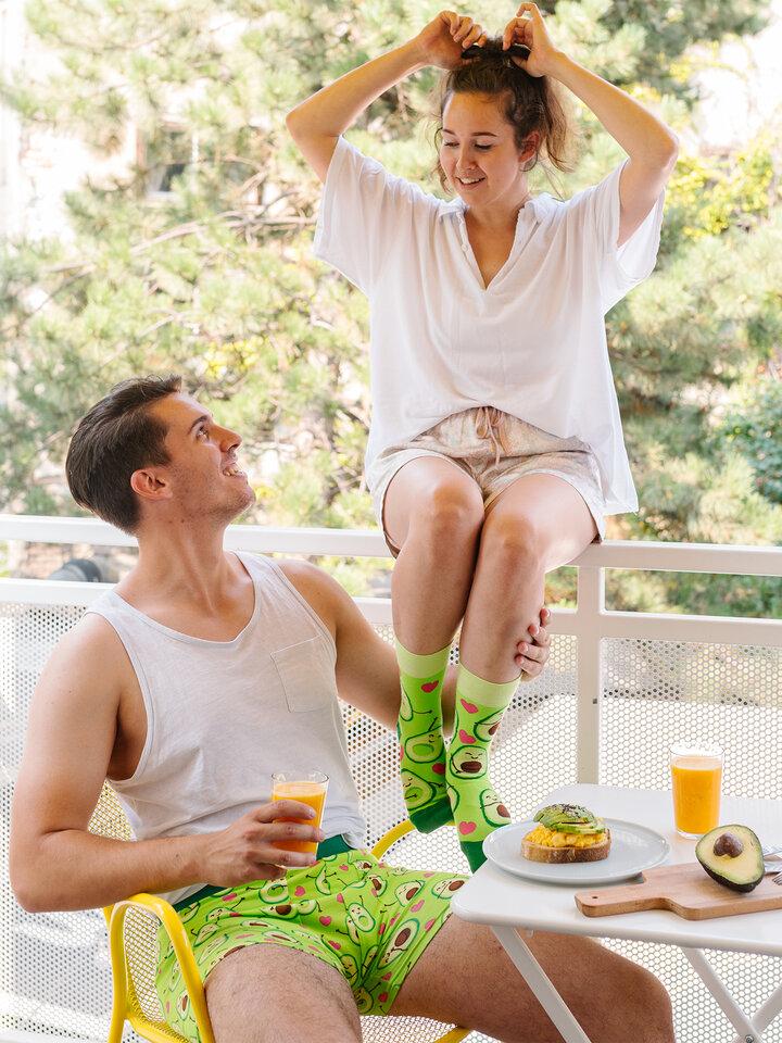 Obrázok produktu Vesele nogavice Avokadova ljubezen