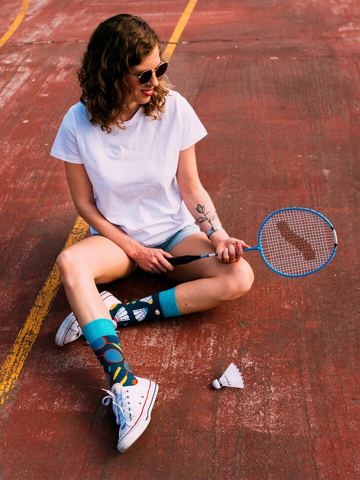 Sale Regular Socks Badminton