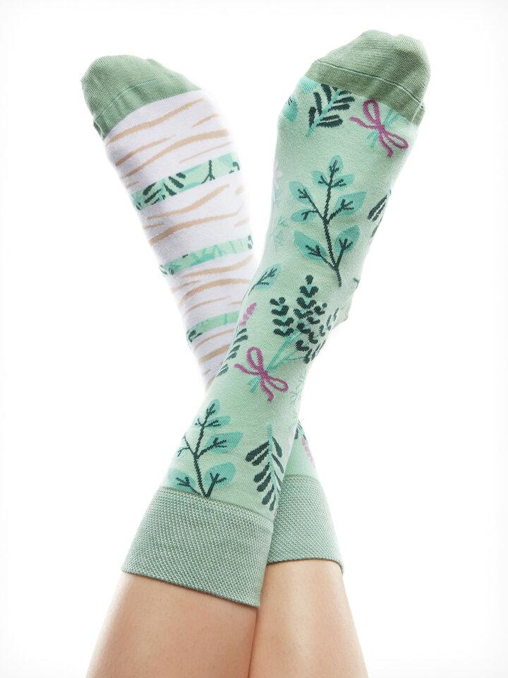 pro dokonalý a originální outfit Veselé ponožky Bylinky