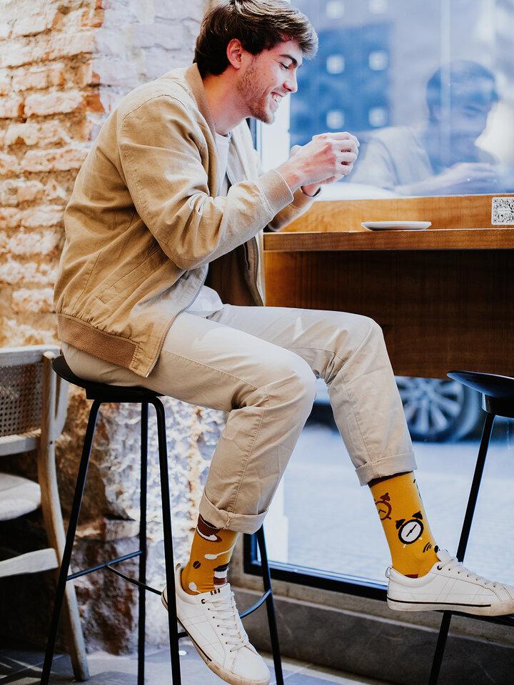 Pre dokonalý a originálny outfit Vesele čarape Vrijeme za kavu