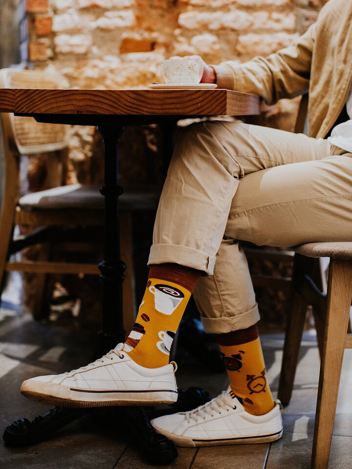 Lifestyle photo Regular Socks Coffee Time