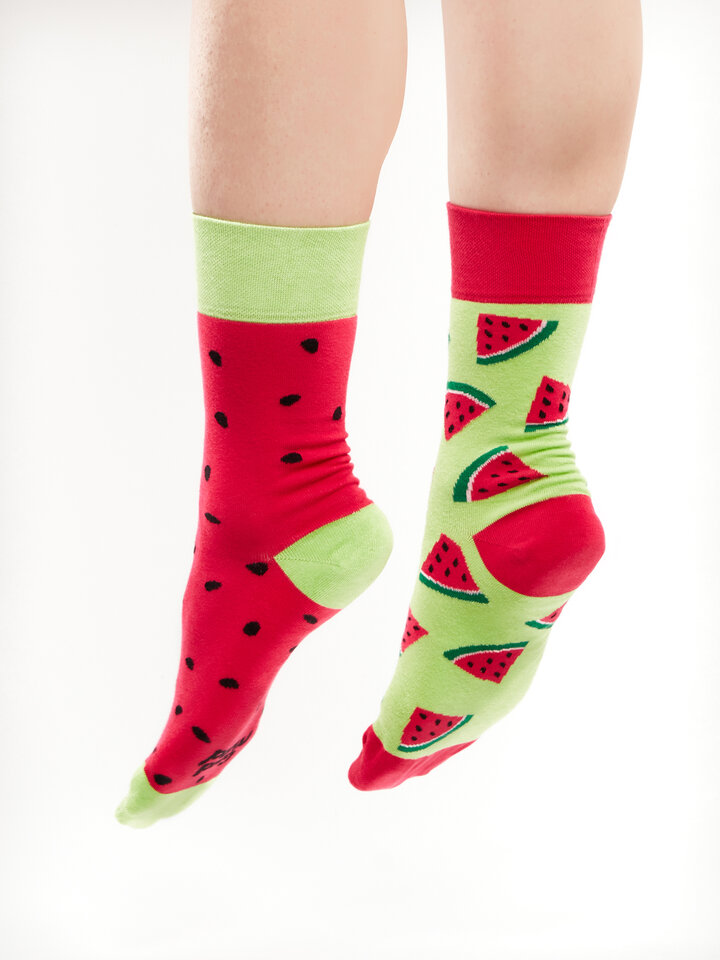Lifestyle photo Regular Socks Watermelon