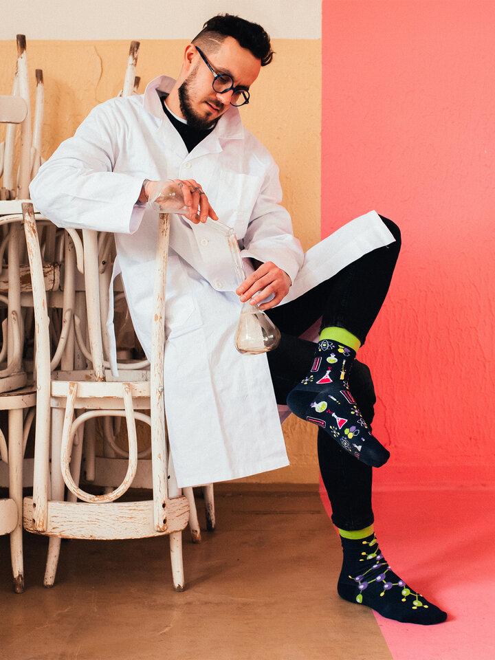 Ausverkauf Lustige Socken Chemie